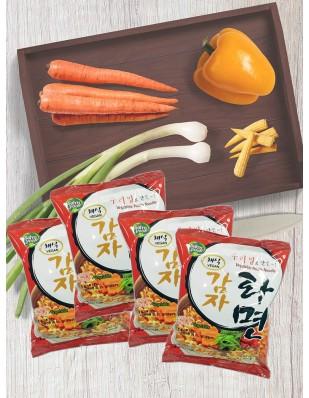 비건라면 채식감자라면 4봉/1박스(16봉)