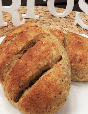 비건빵 발아통밀 옥수수빵
