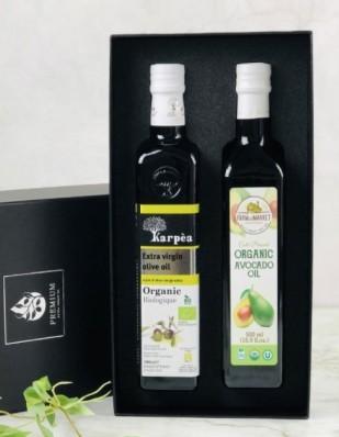 프리미엄 유기농 오일선물세트(아보카도+올리브)